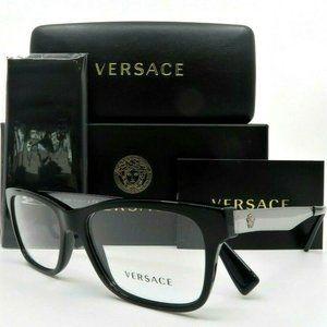 Versace Gunmetal 55mm Men's Glasses!